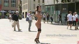 Franceska Jaimes stripped naked caned