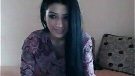 Beauty arab girl dancing