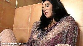 Katty Wrings Out Her Soaking Wet Panties
