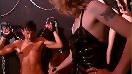 Slaves Are Ordered To Total Submission By Their Mistress