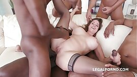 Busty Milf Cathy Heaven gets asshole smashed by