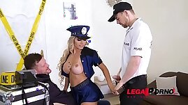 Must see deep penetration for naughty Police Officer Mia Linz