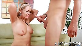 Sex addicted mamma in a hot action